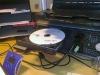Kl: 18:00 Ska precis bränna en DVD-skiva.