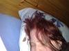 Kl: 14:45 Jag ligger fortfarande i sängen, men illamående och skakningar.