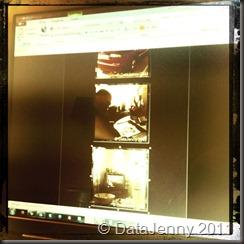 Kl: 19:00 - Detta får bli sista bilden. Sitter och sätter in några av bilderna.