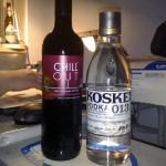 Alkohol till helgen.