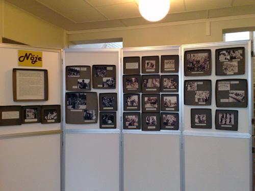 Lite bilder från olika filmsamlingar som har med årets tema Nöje att göra.