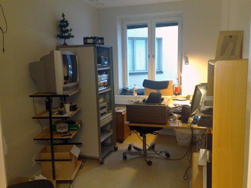 En bild på mitt kontor.
